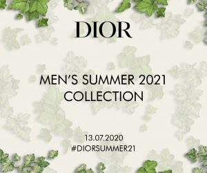 Watch the Dior Men Summer 2021 collection presentation live right here