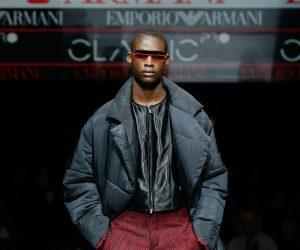 Emporio Armani reinterprets classic menswear for the new generation