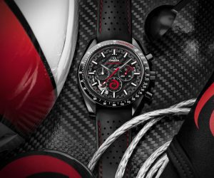 Omega and Alinghi team up for a new Speedmaster