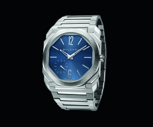 Bulgari unveils new Octo Finissimo Automatic Steel in blue dial