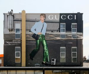 The Jackie 1961 bag takes over Gucci Art Walls