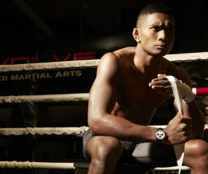 ONE Championship athlete Amir Khan showcases inner strength with lightweight watches