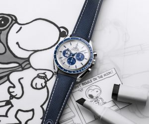Omega releases new Speedmaster in celebration of The Silver Snoopy Award