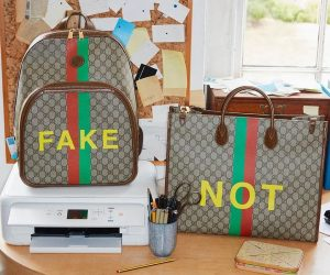 Gucci's Fake/Not collection makes reference to counterfeit culture