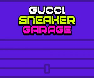 Gucci Sneaker Garage serves as new playground for sneakerheads