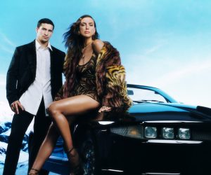 Versace evokes desire for festive celebration with holiday campaign