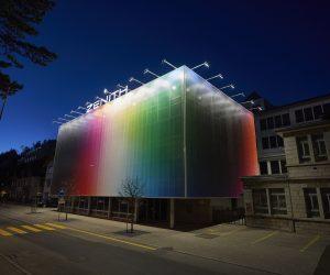 Felipe Pantone lends his artistic allure to Zenith's building
