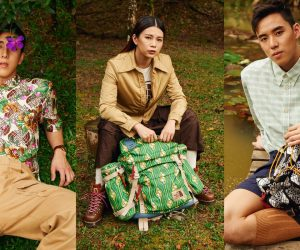 Take a hike with Malaysian Olympians in #TheNorthFacexGucci collection