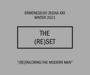 LIVE: Ermenegildo Zegna XXX Winter 2021 show