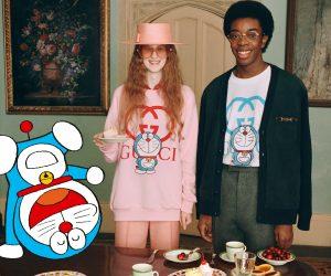 Gucci celebrates CNY with Doraemon x Gucci collection