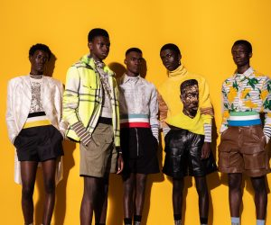 Dior Men Summer 2021 collection is a celebration of African art