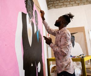 The contemporary artist behind Dior Men's Summer 2021 collection