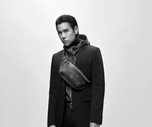Eddie Peng stuns in Berluti's new The Essentials collection