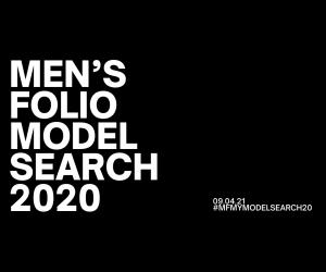 LIVE: Men's Folio Model Search 2020