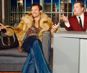Gucci guest-stars on James Corden's show