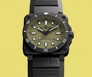 The new Bell & Ross watch nods to military