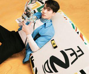 Jackson Wang stuns in Fendi Summer 2021 campaign