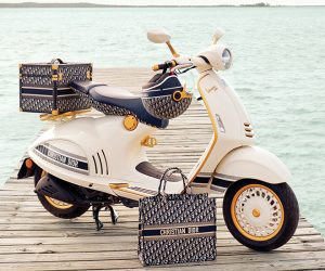 Dior joins forces with Vespa to create an exclusive scooter