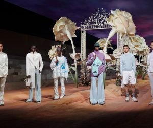 The Dior Men Summer 2022 collection is a fully-developed artist collaboration