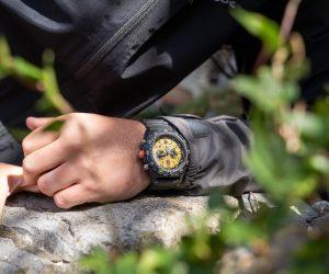 Luminox's latest Bear Grylls watch shines in cream yellow