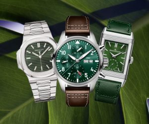 6 timepieces that amaze in shades of green