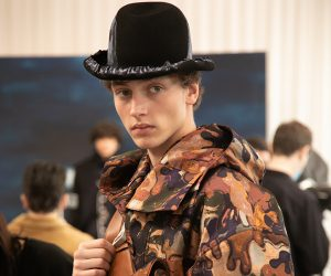 Kim Jones and Peter Doig paint camouflage for Dior Men's A/W 2021 collection