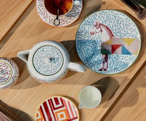 Introducing Hermès Hippomobile Tableware Collection