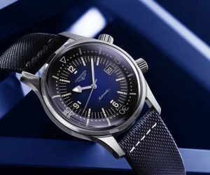 The Longines Legend Diver is now available in coloured versions