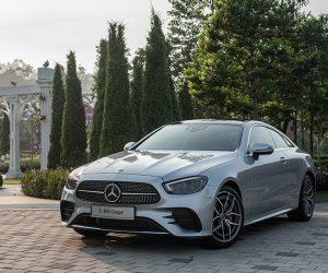 Mercedes Benz revealed the E 300 AMG Line Coupé