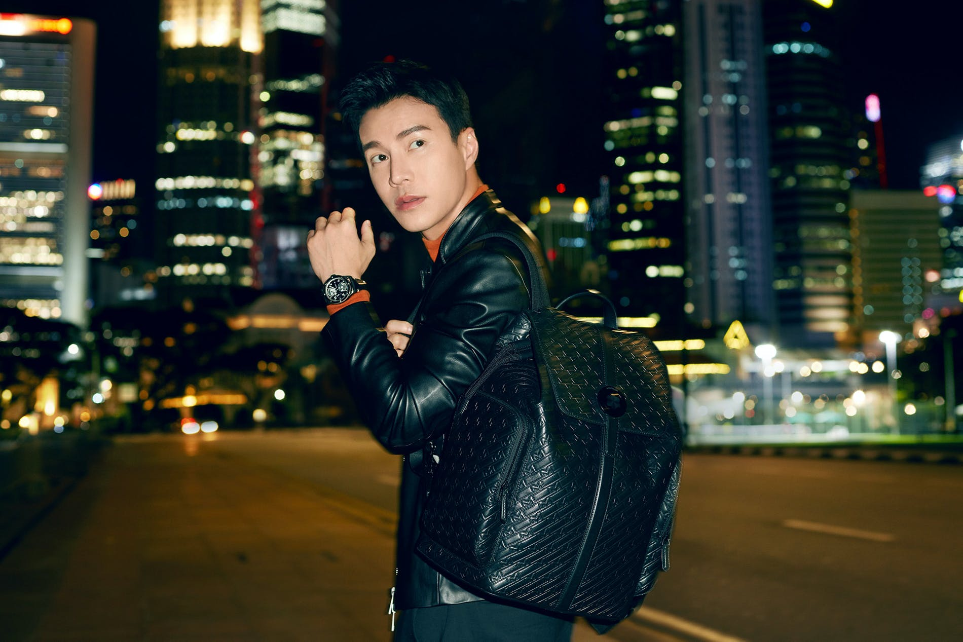 Lawrence Wong Stars in Montblanc's New Ultrablack Campaign