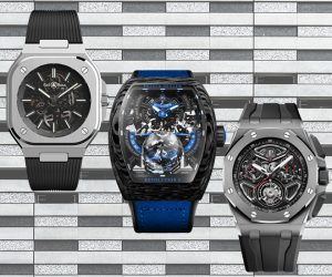 6 skeleton timepieces with exquisite details
